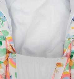 Babyglory Комбинезон-конверт, цвет: коралловый