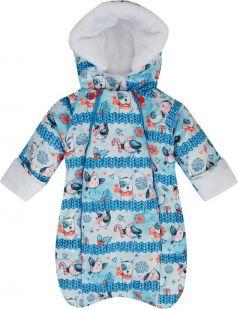 Babyglory Комбинезон конверт Snowball, цвет: синий