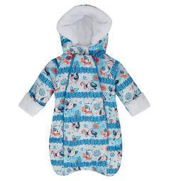 Babyglory Комбинезон конверт Snowball, цвет: голубой
