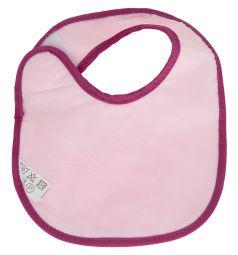 Нагрудник Lubby Первый Детский, цвет: розовый