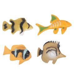 Набор фигурок Tongde Удивительный мир животных Рыбки