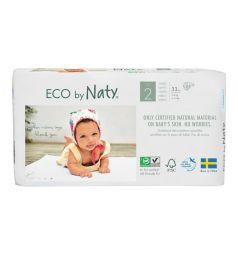 Подгузники Naty Детские (3-6 кг) 33 шт.