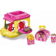 Игровой набор 1Toy Хома Дома Хомбургер-авто, красный хомячок