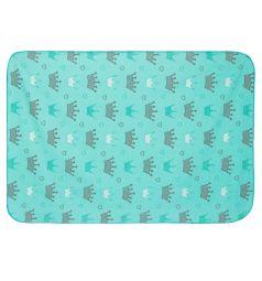 Funecotex Одеяло Короны 98 х 138 см, цвет: зеленый