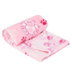 Funecotex Одеяло Мишки 98 х 118 см, цвет: розовый