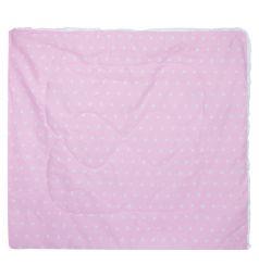 Funecotex Одеяло Звездочки 120 х 125 см, цвет: розовый