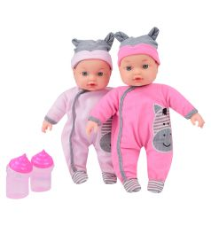 Интерактивная игрушка Tongde Кукла с бутылочкой