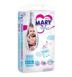 Подгузники Mary р. M (6-10 кг) 42 шт.