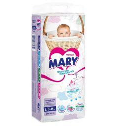 Подгузники Mary р. L (8-14 кг) 36 шт.