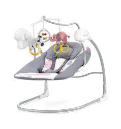 Шезлонг Kinderkraft Minky, цвет: pink