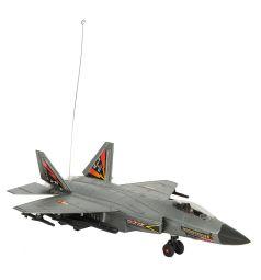 Самолет на радиоуправлении Игруша серебристый 30 см