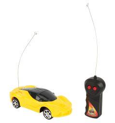 Машинка на радиоуправлении Игруша желтая 18.5 см