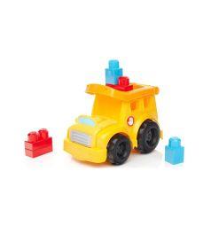 Игровой набор Mega Bloks Веселый транспорт желтая кабина