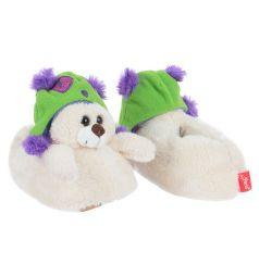 Тапочки-игрушки Forio, цвет: белый