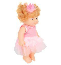 Кукла-пупс Игруша в розовом платье 23 см