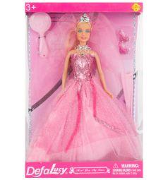 Кукла Defa Невеста в розовом платье 28 см