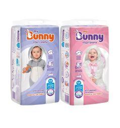 Подгузники My Bunny с канальцами Junior (11-18 кг) 44 шт.