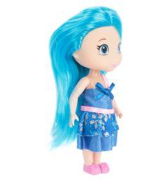 Кукла Игруша с синими волосами