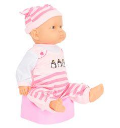 Игровой набор Игруша Кукла с аксессуарами розовая 39 см