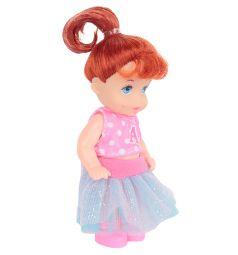 Кукла Игруша фиолетовая юбка, розовый топ