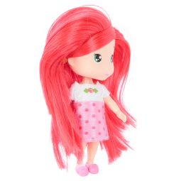 Кукла Игруша с розовыми волосами
