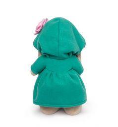 Мягкая игрушка Budi Basa Зайка Ми в изумрудном пальто с розовым цветочком 32 см