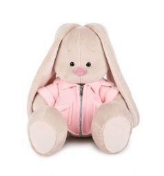 Мягкая игрушка Budi Basa Зайка Ми в розовой меховой курточке 23 см