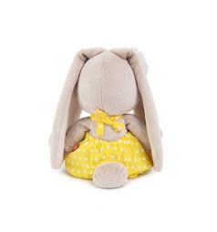 Мягкая игрушка Budi Basa Зайка Ми в жёлтом комбинезоне и с ромашкой 22 см