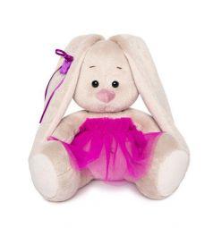 Мягкая игрушка Budi Basa Зайка Ми в пурпурной юбочке «фонарик» 15 см