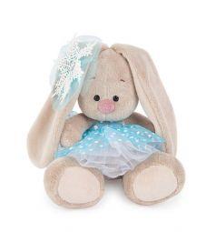 Мягкая игрушка Budi Basa Зайка Ми со снежинкой на ушке 15 см