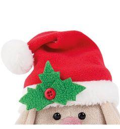 Мягкая игрушка Budi Basa Зайка Ми в красном колпачке и шарфе 15 см