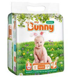 Подгузники My Bunny Classic Maxi (7-14 кг) 64 шт.