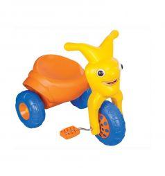 Трехколесный велосипед Pilsan Clown, цвет: оранжевый