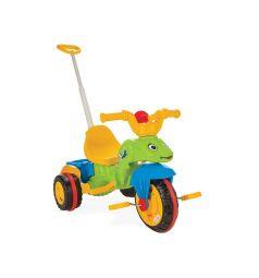 Трехколесный велосипед Pilsan Caterpillar с контролем, цвет: зеленый
