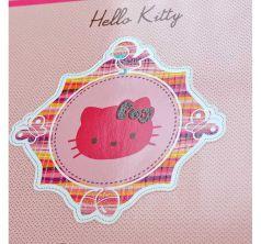 Альбом для рисования Action Hello Kitty 24 листа уф-лак блёстки розовый