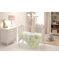 Baby Nice Одеяло Земляничная поляна 85 х 115 см, цвет: зеленый