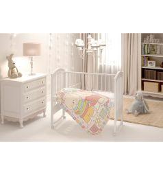 Baby Nice Одеяло Два медведя 100 х 140 см, цвет: розовый