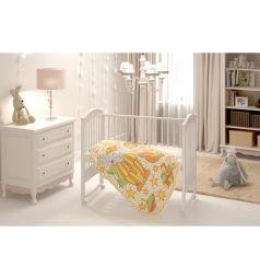 Baby Nice Одеяло Пора спать 140 х 100 см, цвет: оранжевый