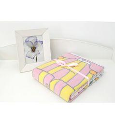 Baby Nice Одеяло Пора спать 100 х 140 см, цвет: розовый