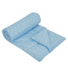 Моей крохе Одеяло 110 х 140 см, цвет: голубой