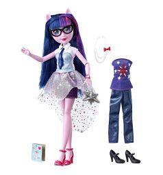 Кукла My Little Pony Equestria Girls Уникальный наряд Искорка 29 см