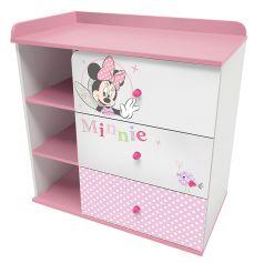 """Комод Polini kids Disney baby 5090 """"Минни Маус-Фея"""", с 3 ящиками"""