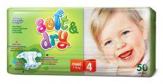Подгузники Helen Harper Soft&Dry Maxi 4, 7-18кг, 50шт.