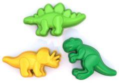 """Формочки Нордпласт """"Динозаврики"""" для песка, 3шт."""