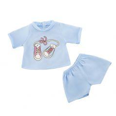 Одежда для куклы 38-43см Mary Poppins: футболка и шортики