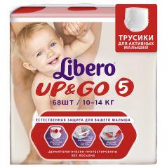 Трусики Libero Up&Go Size 5 (10-14кг), 68шт.