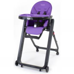 Стульчик для кормления Nuovita Futuro Senso Nero фиолетовый