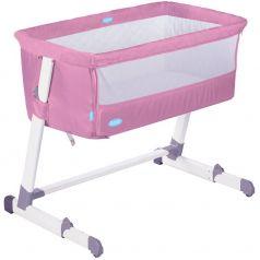 Детская приставная кроватка Nuovita Accanto розовая