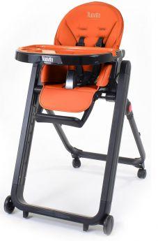 Стульчик для кормления Nuovita Futuro Senso Nero оранжевый
