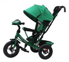 Трехколесный велосипед Sweet Baby Mega Lexus Music bar, зеленый